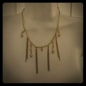 NWT Chrystal Necklace/Earing Set